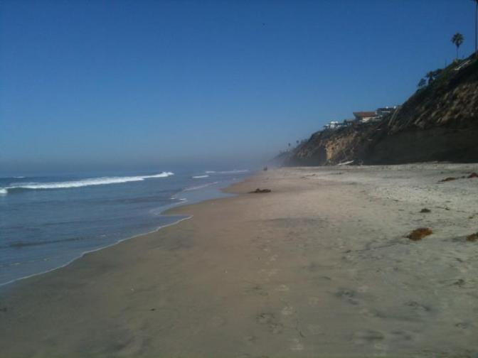 encinitas beach photo